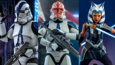 Photo of Hot Toys y un triple lanzamiento para Star Wars: The Clone Wars