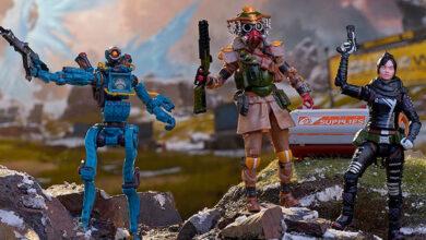 Photo of Jakks Pacific lanza línea de figuras de acción de juego online APEX Legends.