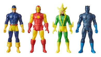 Photo of Hasbro revela nueva colección «retro» en Marvel Legends