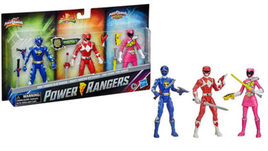 "Photo of Hasbro presenta un 3-pack de Power Rangers ""Episodio especial"""