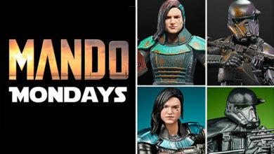 Photo of Hasbro muestra novedades de «The Mandalorian» para los Mando Monday
