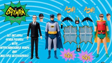 Photo of Mezco Toyz lanza set especial inspirado en la serie Batman (1966)