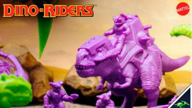 Photo of Los Dino-Riders de Mattel en un regreso muy especial