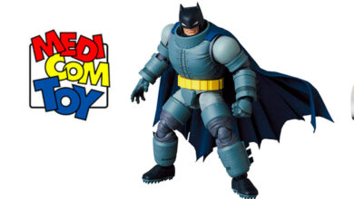 Photo of Medicom Toy nos da un adelanto de nueva figura de Batman MAFEX