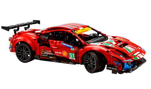 LEGO Technic Ferrari 488 GTE -51.