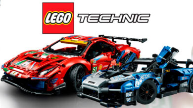 Photo of El McLaren Senna GTR y el Ferrari 488 GTE llegan a LEGO Technic