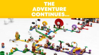 Photo of The LEGO Group anuncia nuevos sets y personajes para LEGO Super Mario