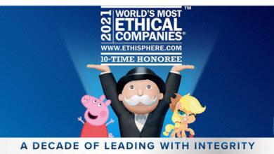 Photo of Hasbro es incluido en lista de empresas más responsables por décimo año consecutivo