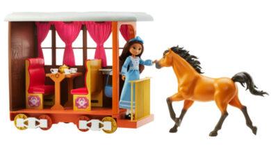 Photo of Spirit cabalga de nuevo con la nueva línea de juguetes de Mattel