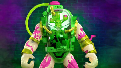 Photo of Super7 TMNT Ultimates Glow-in-the-Dark Mutagen Man