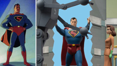 Photo of Mezco Toyz lanza set de serie animada de Superman (1941)