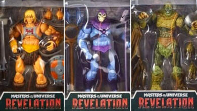 Photo of Se revelan los empaques de las figuras de Master of the Universe: Revelations