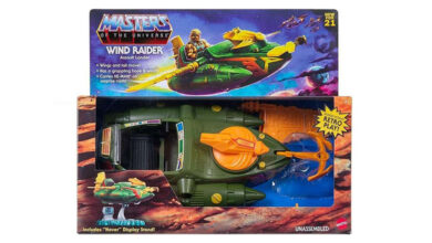 Photo of Mattel anuncia el lanzamiento del Master of the Universe Origins Wind Raider