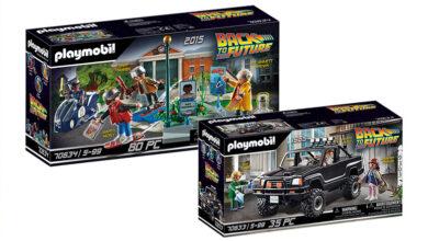 """Photo of Playmobil amplía su línea de """"Volver al Futuro"""""""