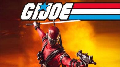 Photo of ¿Deadpool? …No, es Snake Eyes (GI Joe – Deadgame) de Threezero
