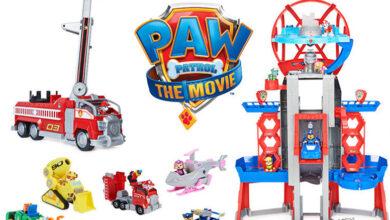 Photo of Spin Master presenta línea de juguetes de «Paw Patrol: The Movie»