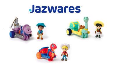 Photo of Jazwares lanza línea de juguetes basada en «Dino Ranch»