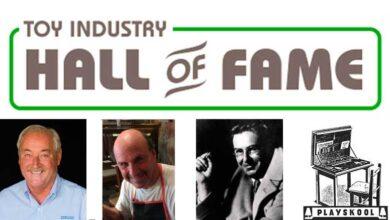 """Photo of Se anuncia nuevas 4 leyendas de la industria para el Salón de la Fama del Juguete"""""""