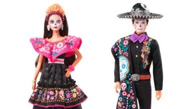 Photo of Mattel presenta muñecas de «Barbie Día de los muertos 2021»