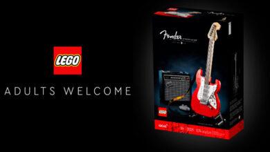 Photo of LEGO Ideas y su gran homenaje a otra leyenda: La Guitarra Fender Stratocaster