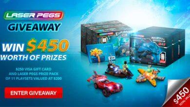 Photo of Never Wrong Toys anuncia sorteo para celebrar el nuevo sitio web de «Laser Pegs»