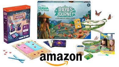 Photo of La lista de juguetes más populares del 2021 según Amazon