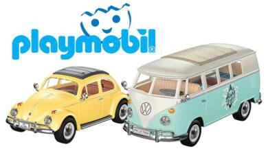 Photo of Playmobil presenta dos ediciones especiales del Volkswagen T1 y del Wolkswagen Beetle