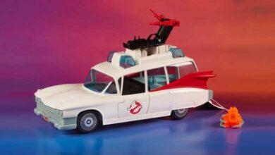 Photo of Hasbro y su réplica del clásico Ghostbuster Ecto-1 de Kenner