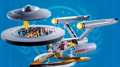 Photo of Playmobil ingresa al mundo de Star Trek con su versión del U.S.S Enterprise